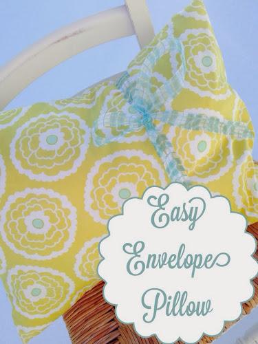 Easy envelope pillow, fatquartershop.com, pillow cover