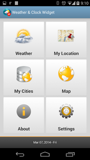 Weather & Clock Widget Ad Free for Android