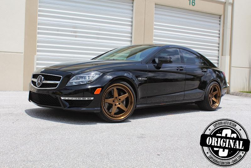 以黑之名: 720HP Renntech Mercedes Benz CLS63 AMG - G7 車庫柒號