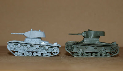 compared T-26s