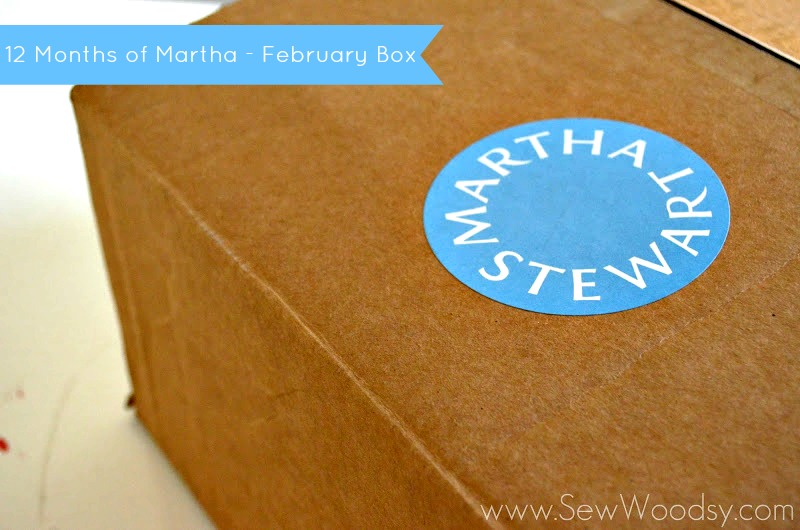 12 Months of Martha - February Box from SewWoodsy.com #12MonthsofMartha