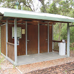 Toilets at Boomeri campsite