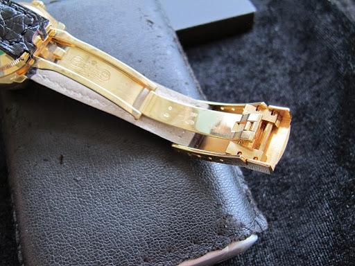 Bán đồng hồ rolex datejust chính hãng – model 116138 – Vỏ vàng 18k – dây da – size 36mm