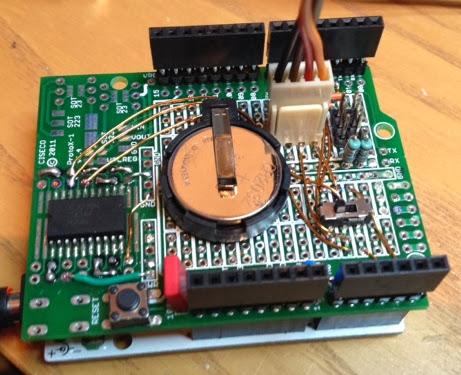thd arduino projekte ds3232 rtc modul f r arduino. Black Bedroom Furniture Sets. Home Design Ideas
