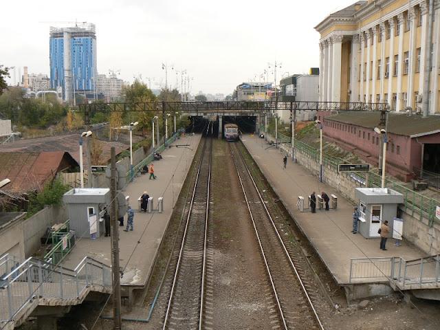 Киев-Пассажирский платформы