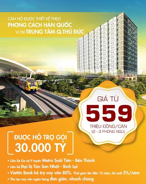 Thông tin bảng giá căn hộ First Home Premium Thủ Đức- Gói 30000 tỷ