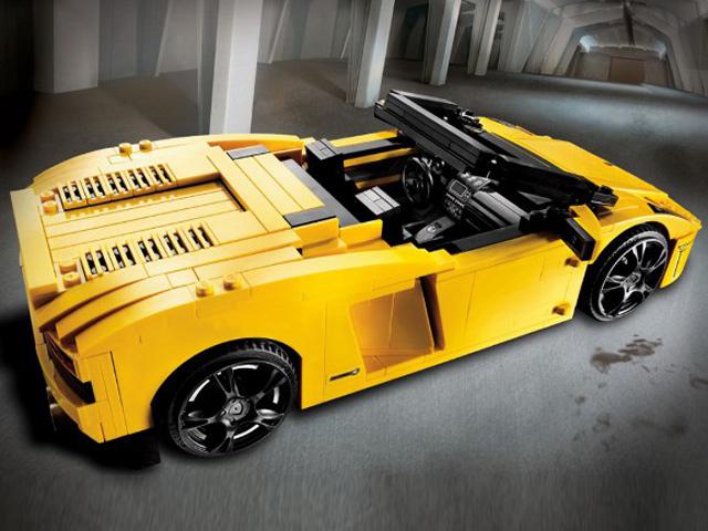 4 Sublime Lego Lamborghinis Localized
