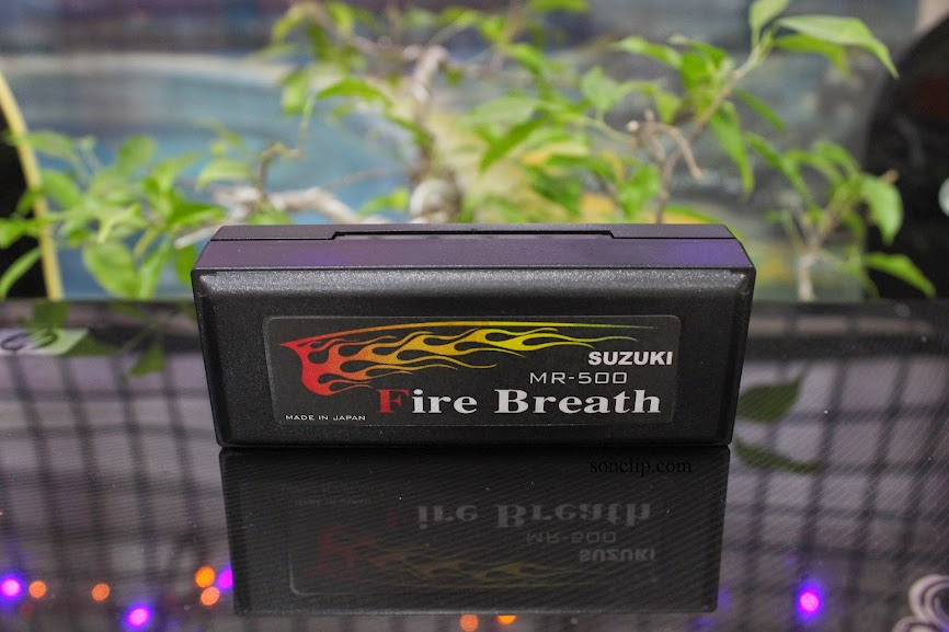 Kèn Harmonica - Suzuki Fire Breath MR-500 (key C)