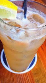 Jacknife PDX cocktail of BYE BYE SWEET PONY with whiskey, quince, lemon, maple syrup, Jackknife ginger beer, salt