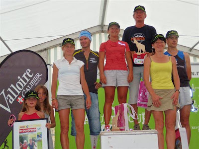Trail du Galibier 2012 - podium