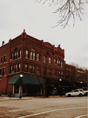 dreary, building, victorian, old, architecture, downtown