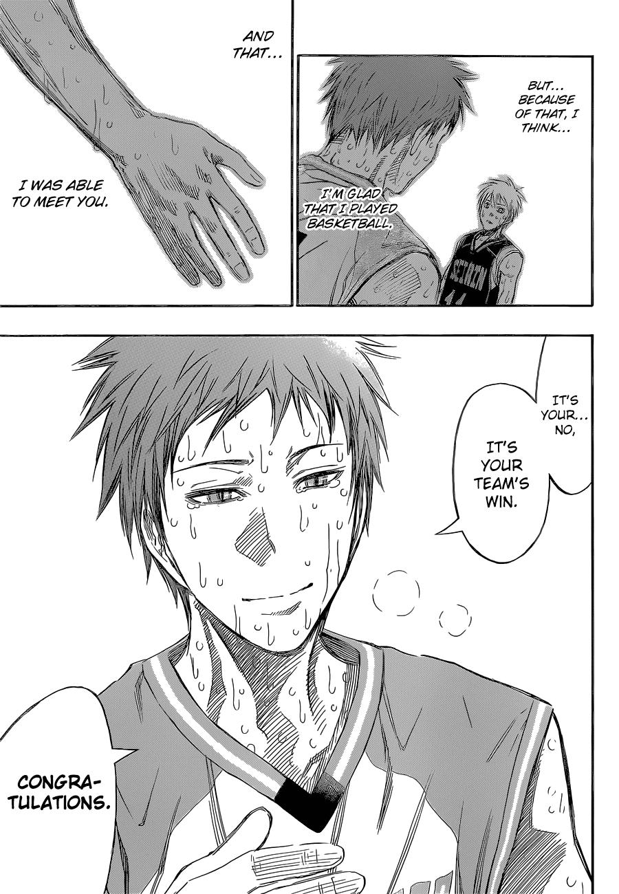 Kuroko no Basket Manga Chapter 275 - Image 08