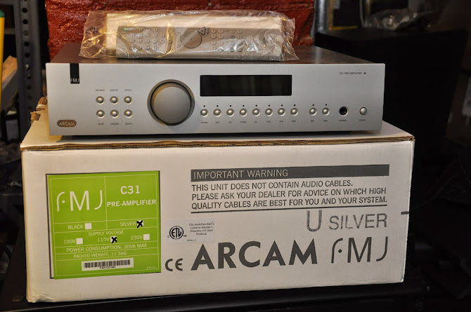 SOLD!!! Arcam FMJ C31 Stereo Pre-amp w/