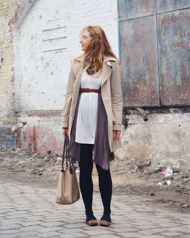 Trench Coat and Leopard - Almost Stylish