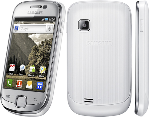 Samsung galaxy fit blanco