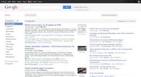 Google News Design Juli 2011