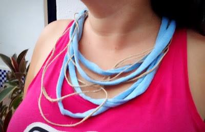 DIY: collar de algodón