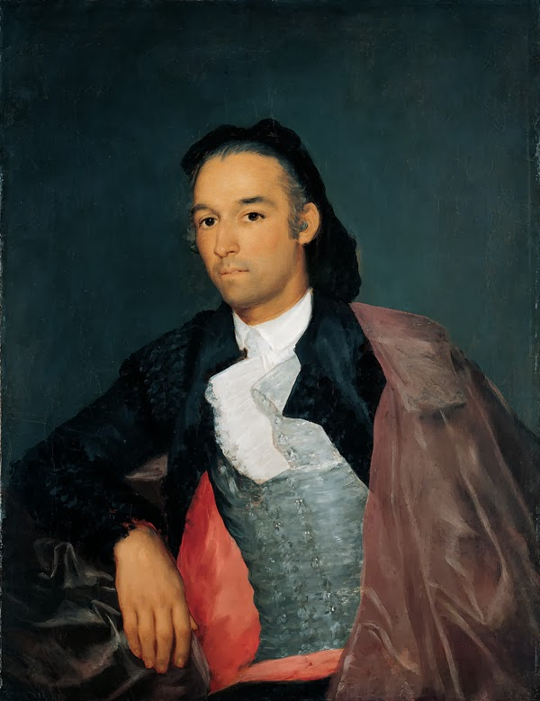 Francisco Goya - Portrait of the Matador Pedro Romero