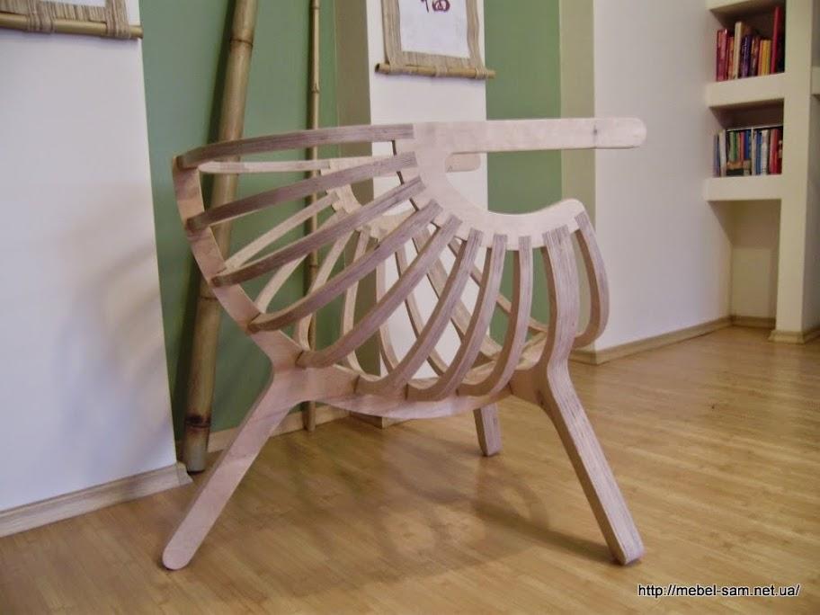 Собранное кресло