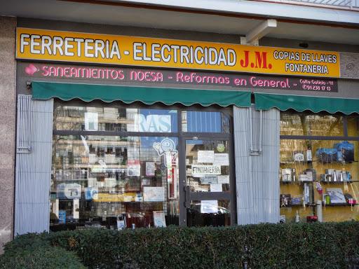 JM FERRETERIA ELECTRICIDAD