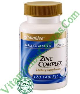 zinc complex shaklee zinc complex shaklee Zinc Complex Shaklee Khazanah Buat Kaum Adam Image23845263
