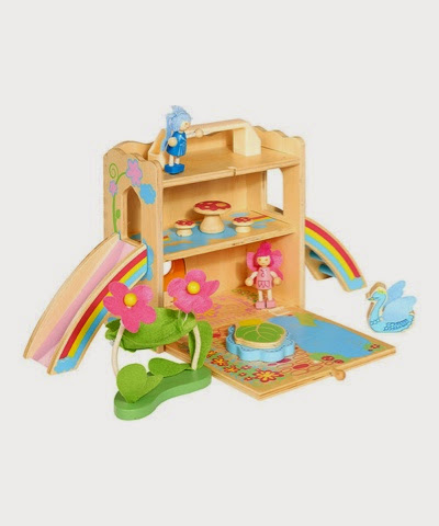 Boxset Fairy House Wooden toy playset