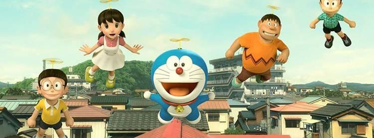 """Los protagonistas de """"Doraemon"""" en versión digital"""