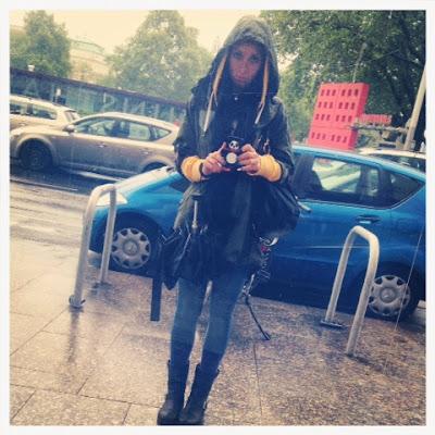 Vienna under the rain