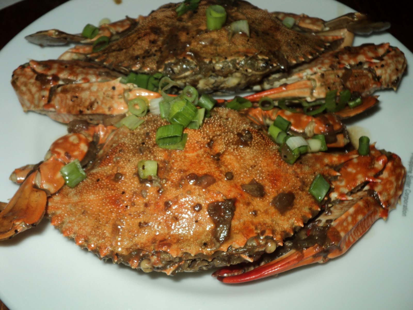 crabs soy sauce