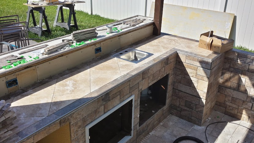 DIY Outdoor Kitchen by thisgreyhouse.com