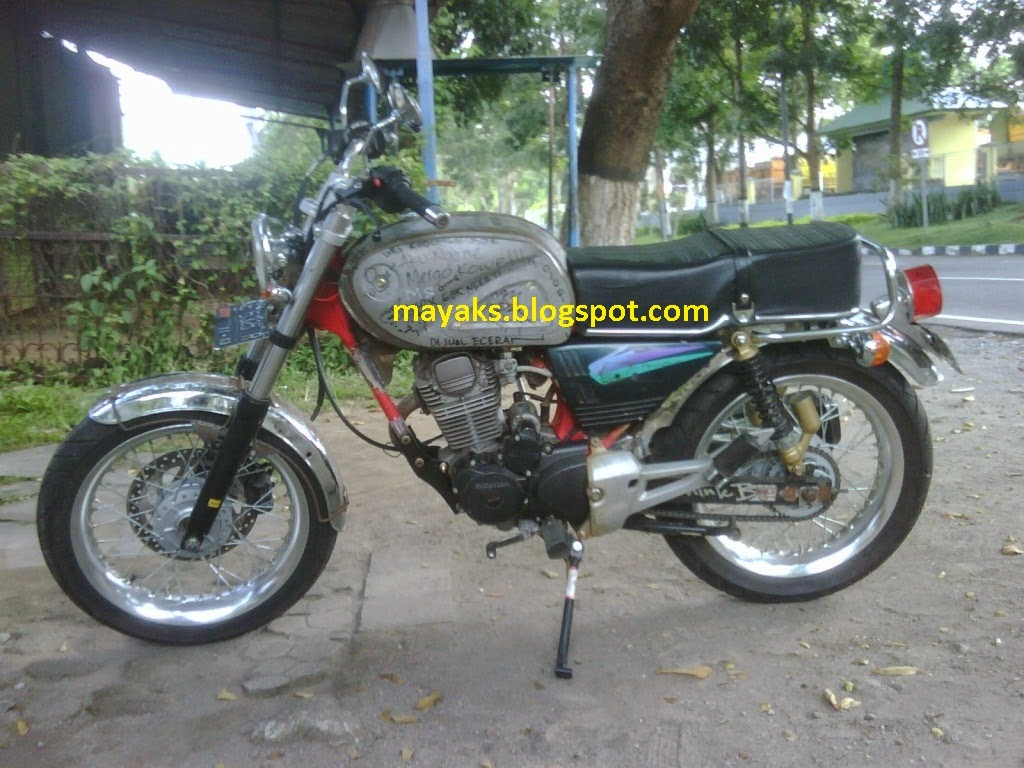 Ninja 250 Modifikasi Cb 100