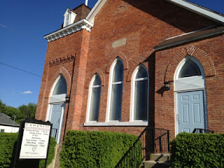BME Church in Chatham, site of the first John Brown Convention