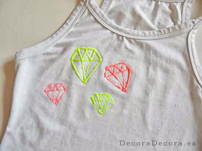 Cómo decorar una camiseta con Carioca Art.