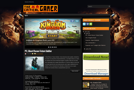 The Critical Gamer en AltaBloggers: Directorio de Blogs para Bloggers