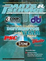 Truck Parts & Service Magazine Cover