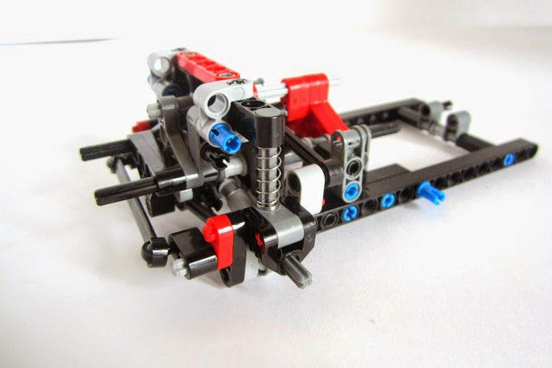 Small Front Independent Suspension With Drive Lego