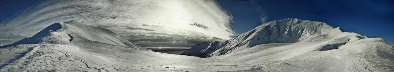 Pyszniańska Przełęcz - widok