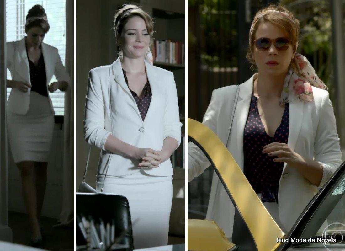 moda da novela Império, look da Cristina dia 11 de novembro