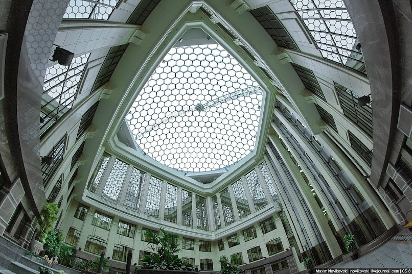 здание МИД изнутри