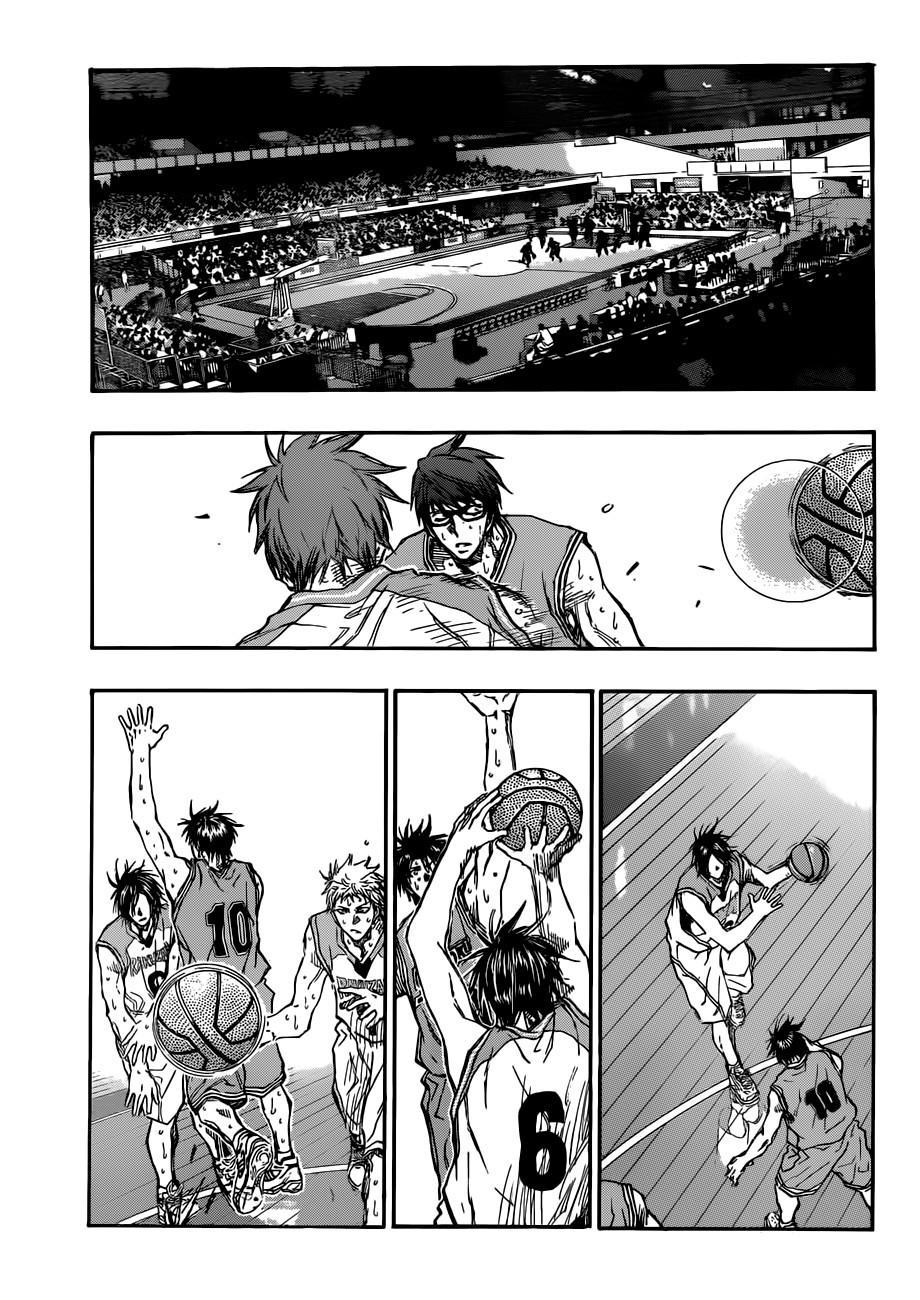 Kuroko no Basket Manga Chapter 181 - Image 17