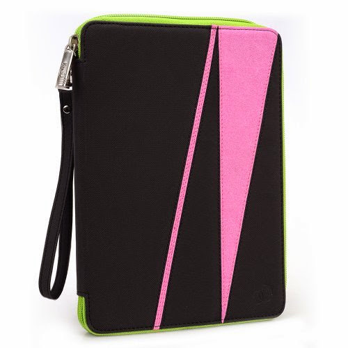 GizmoDorks Travel Folio Zipper Stand Case Cover Pouch for Lenovo IdeaPad A2107 7