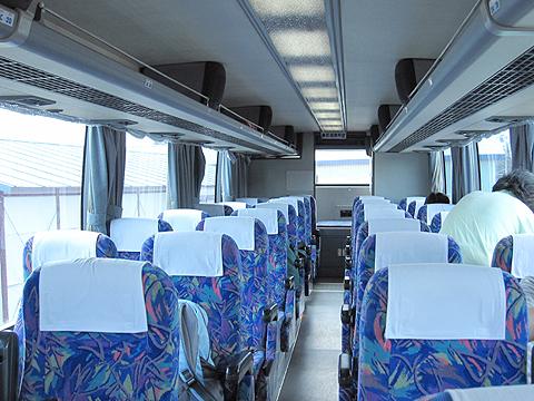 道北バス「サンライズ旭川釧路号」・671 車内