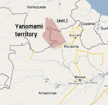 an look at the yanomamo society The yanomami, also spelled yąnomamö or yanomama, are a group of approximately 35,000 indigenous people who live in some 200–250 villages in the amazon rainforest on the border between.