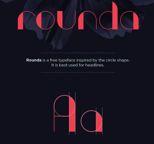 ROUNDA Free Fonts