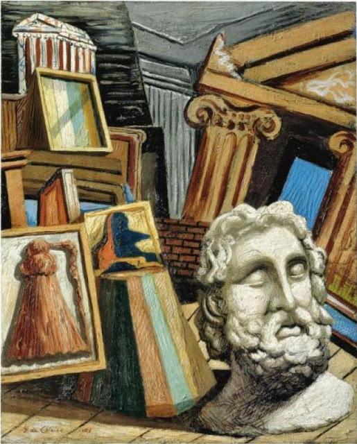 Giorgio de Chirico - Head philosopher