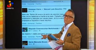 Manuel Luís Goucha É Ofendido No Facebook E Responde De Forma Incrível Em Directo Na TVI!!!