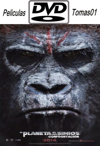 El Planeta de los Simios: Confrontacion (2014) DVDRip