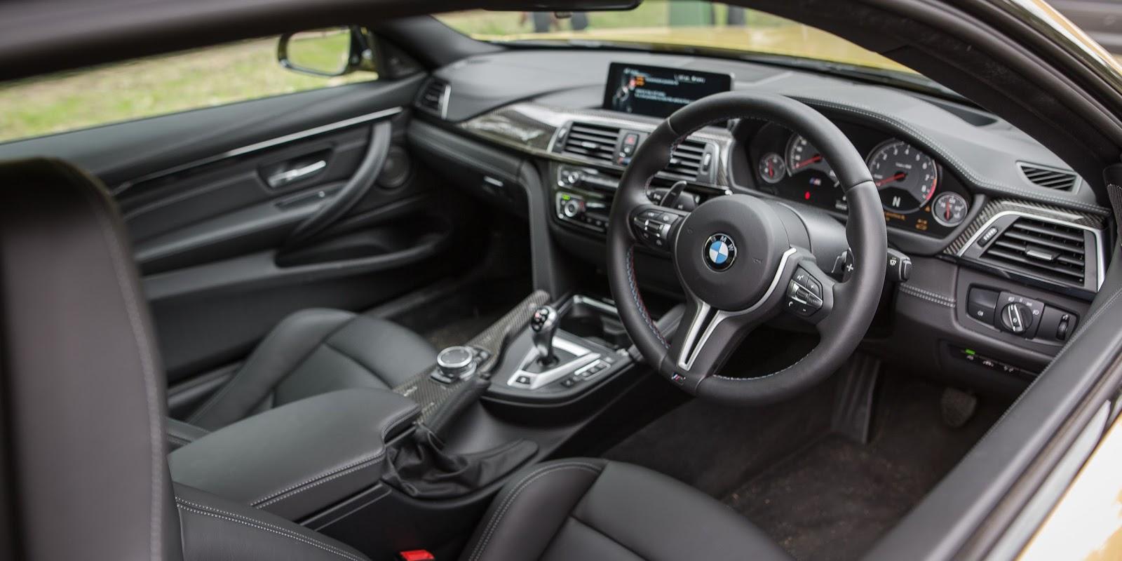 Không có quá nhiều tính năng thông minh ở trên chiếc BMW M4 Competition 2016
