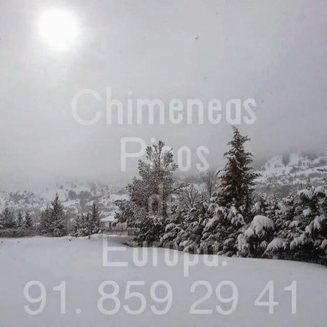 Chimeneas picos de europa nieve y chimeneas - Chimeneas picos de europa ...