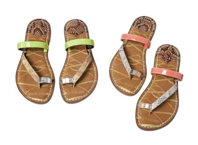 64206995ef6d The sandals are a step up from the usual Target sandals with cushioned  insoles and on-trend neon accents